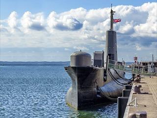 U-Boot H.M.S. Otus in Sassnitz