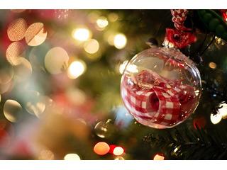 Weihnachtliches Ostseebad