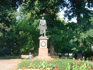 Moltkeplatz mit Denkmal