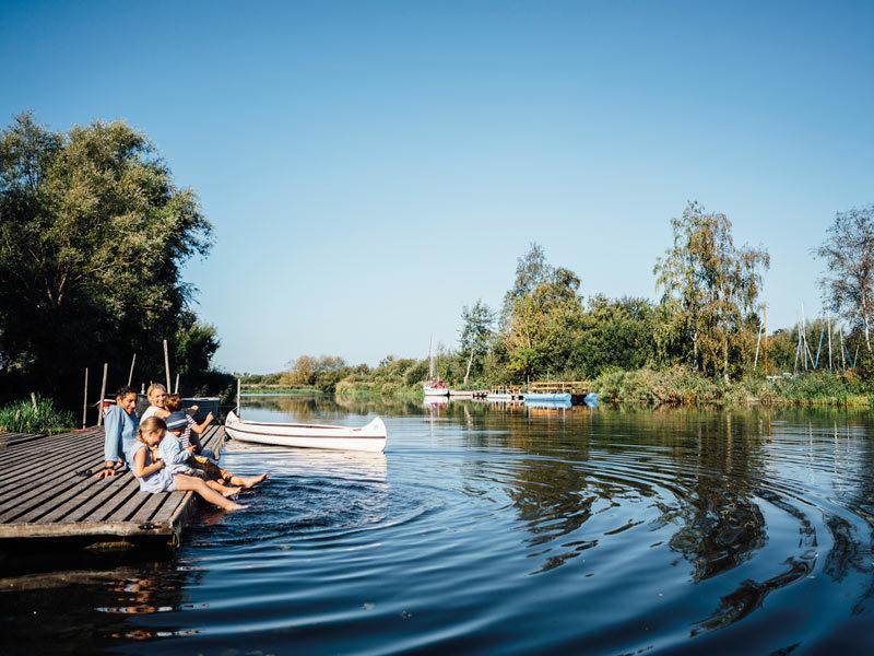 Relaxtour von Ribnitz-Damgarten bis Langendamm