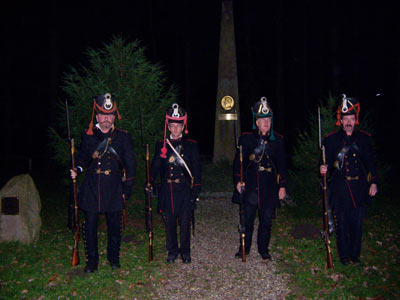 Wandertour zum Theodor-Körner-Denkmal in Rosenow