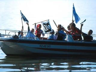 Piratentour unser Highlight für Gruppen von 10 bis 30 Teilnehmern