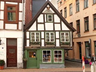 Das älteste Fachwerkhaus Schwerins