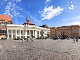 Marktplatz und Schlachtermarkt Schwerin