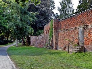 Historische Wallanlage Greifswald