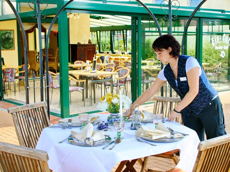 Café & Restaurant im Landhotel Borstel-Treff