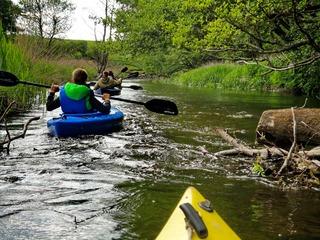 Mit Kanu oder Kajak unterwegs im Sternberger Seenland
