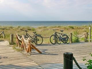 Rundtour zum Radfahren und Wandern auf der Insel Poel