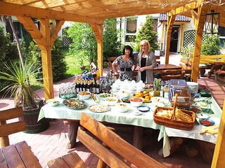 Restaurant in der Ferienanlage Waldhaus am Ferienpark