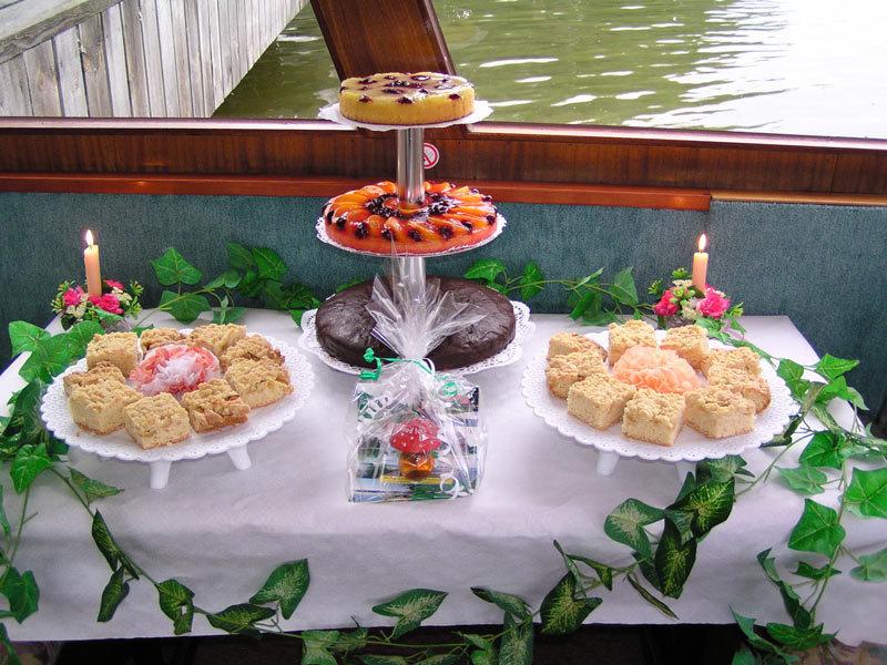 "Gastronomie an Bord der MS ""Condor"""