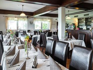Restaurant mit Biergarten im Landhaus Brückner