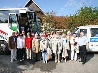 Angebot für Gruppen (ab 10 Personen) oder Bustourismus