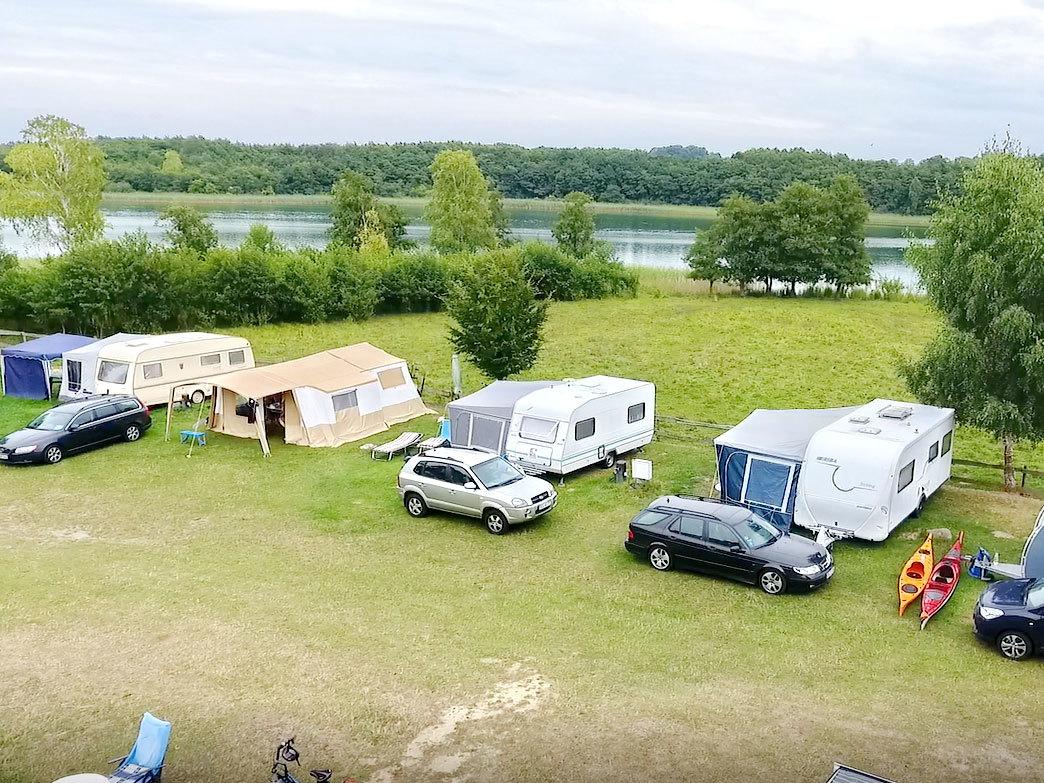 Camping am Bauernhof