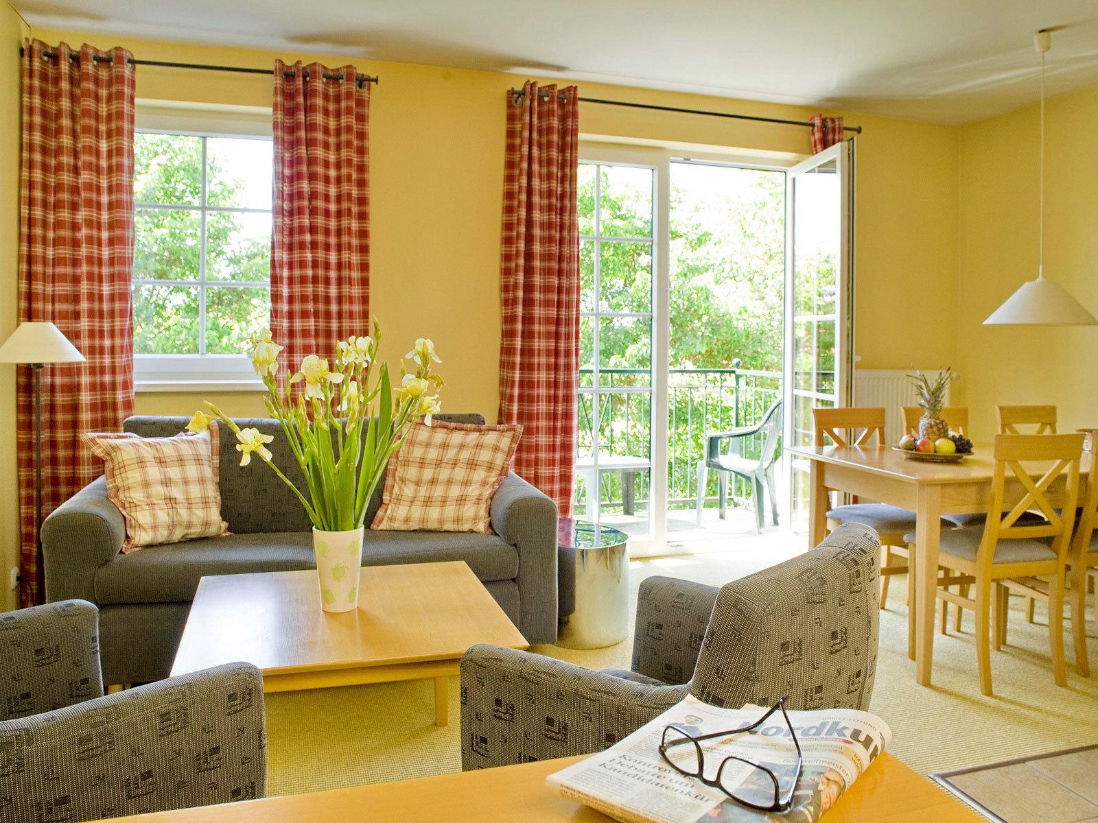 Suiten & Doppelzimmer in der FerienResidenz