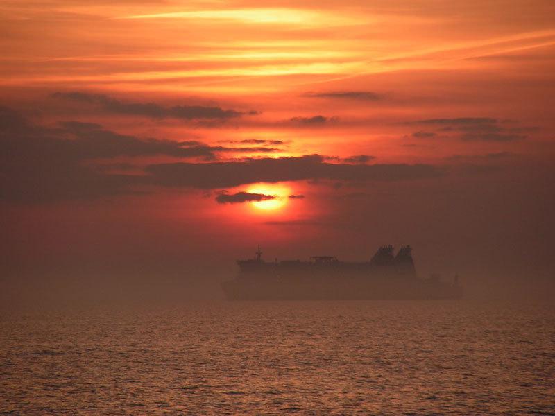 Dorschangeln im Öresund