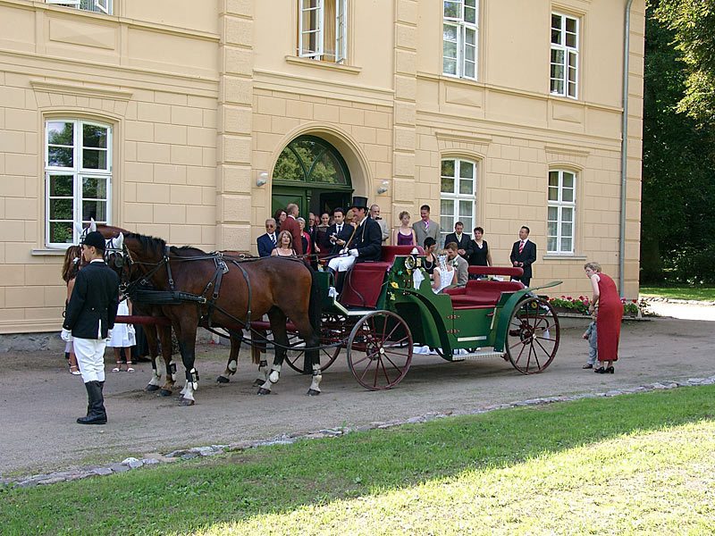 Hochzeiten und Feste im Schloß Kölzow