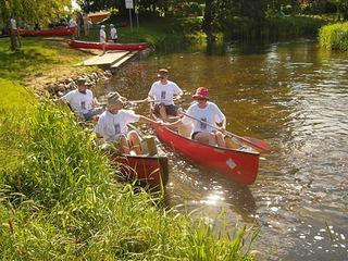 Mit Kanu oder Kajak auf Flüssen und Seen im Sternberger Seenland