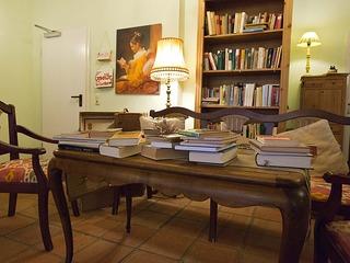 Arrangement Im Paradies der Bücherwürmer