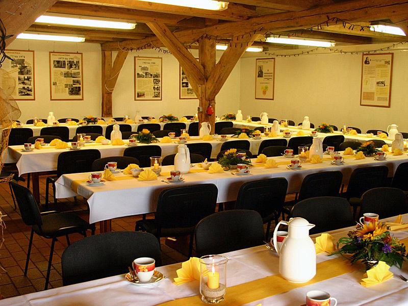 Tagungen und Veranstaltungen an historischer Stätte