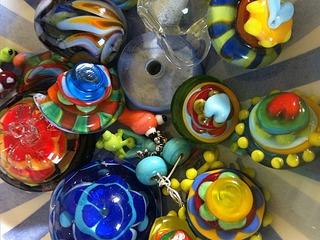 """Faszination Perlen aus Glas oder Glaskunst """"Elfenzauber"""""""