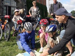 Arrangement Ran an die Pedalen - Radtouren im Müritzgebiet