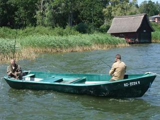 Arrangement für Angler