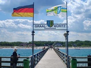 Seebrücke in Graal-Müritz