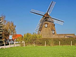 Holländer-Windmühle Dorf Mecklenburg