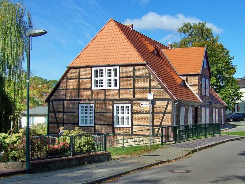 Naturmuseum Goldberg mit Bauerngarten