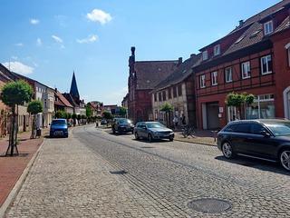 Die Lange Straße in Hagenow