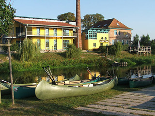 Gästehaus Mühlenstein Kanustation