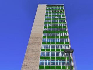 Aussichtsplattform des Hauses der Kultur und Bildung Neubrandenburg