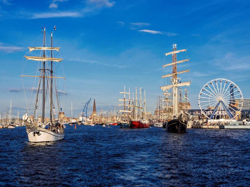 Warnemünde Hanse Sail 2021