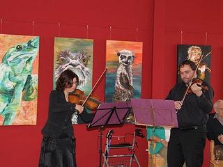 Künstler-Atelier im Hotel am Müritz-Nationalpark