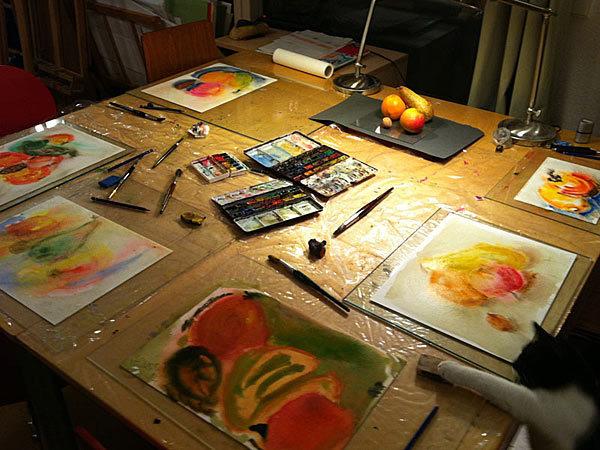 Kurse für Jedermann - Malerei und Glaskunst