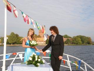 Trauung auf See