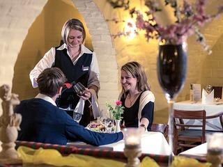 Restaurant Wallenstein im Hotel Schloss Neustadt-Glewe