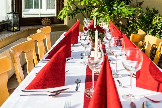 Restaurant im Gasthaus Zur Schleuse
