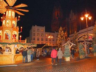 Arrangement zum Schwerinner Weihnachtsmarkt