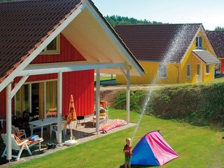 Ferienhäuser und Bungalowzelt am Woblitzsee