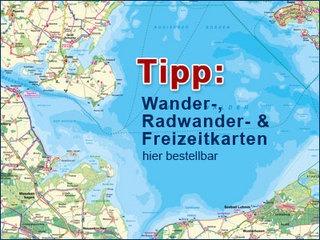 Touristische Landkarten für die Schweriner Seenlandschaft