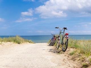 Radfahren auf Hiddensee