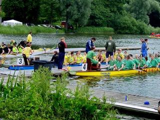 Drachenbootsport in Schwerin