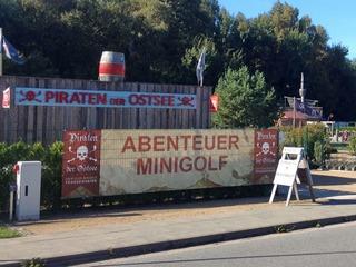 Minigolf - Piraten an der Ostsee