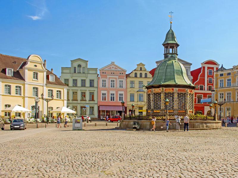 Historische Altstadt Wismar UNESCO-Welterbe