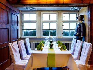 Restaurant mit Terrasse in der Burganlage Alte Münze