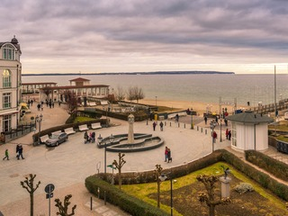 Binzer Strandpromenade
