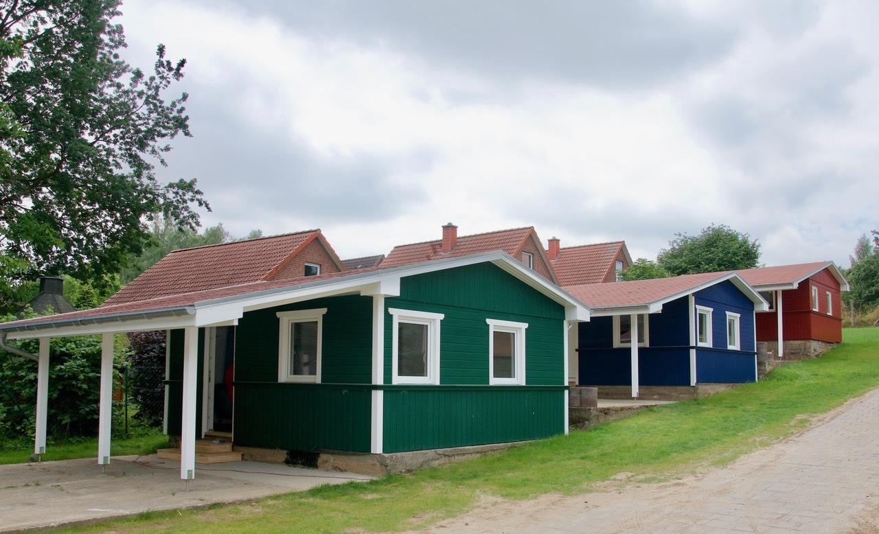 Bungalow auf dem  Campingplatz Niendorf
