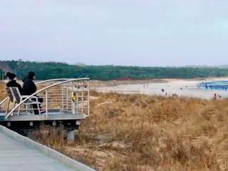 Große Strandpromenade Kaiserbäder - Swinemünde