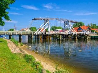 Fischerdorf Wieck & Wiecker Holzklappbrücke
